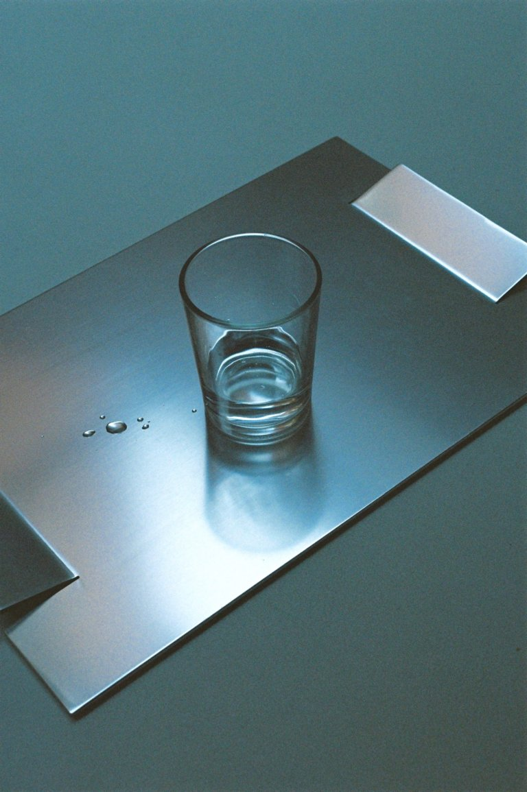 Aluminium Tray - curated by.
