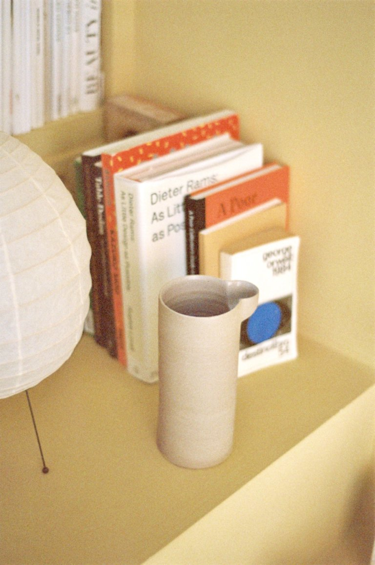 Cylinder Stoneware Jar - curated by.
