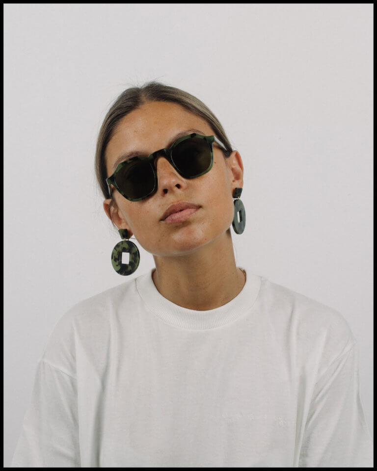 Tortoise Earrings - curated by.
