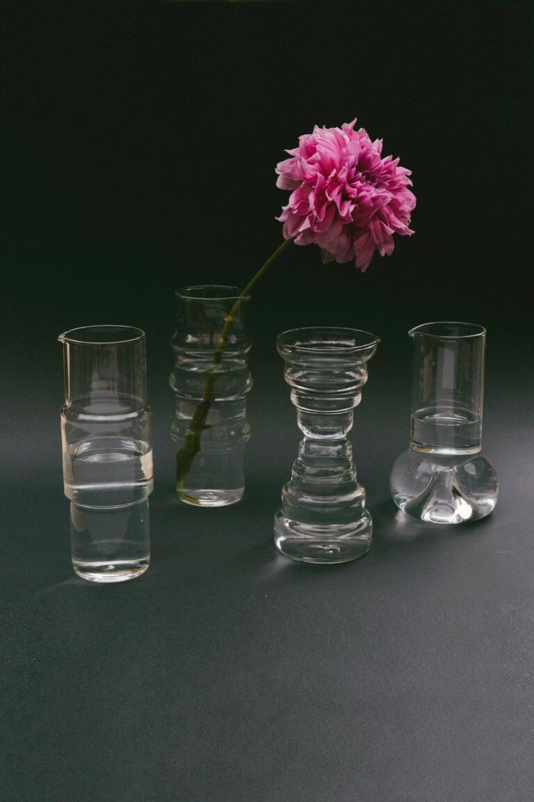 Aiguafreda Glass Pitcher - curated by.