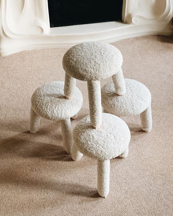 Lamb Stool - curated by.