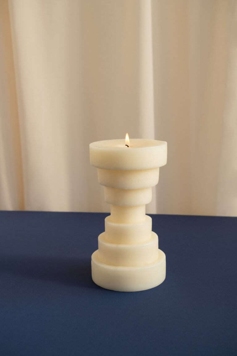 Calice Candle - curated by.
