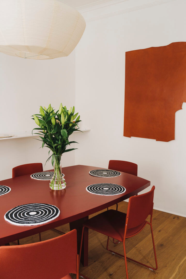 Table Mat - curated by.