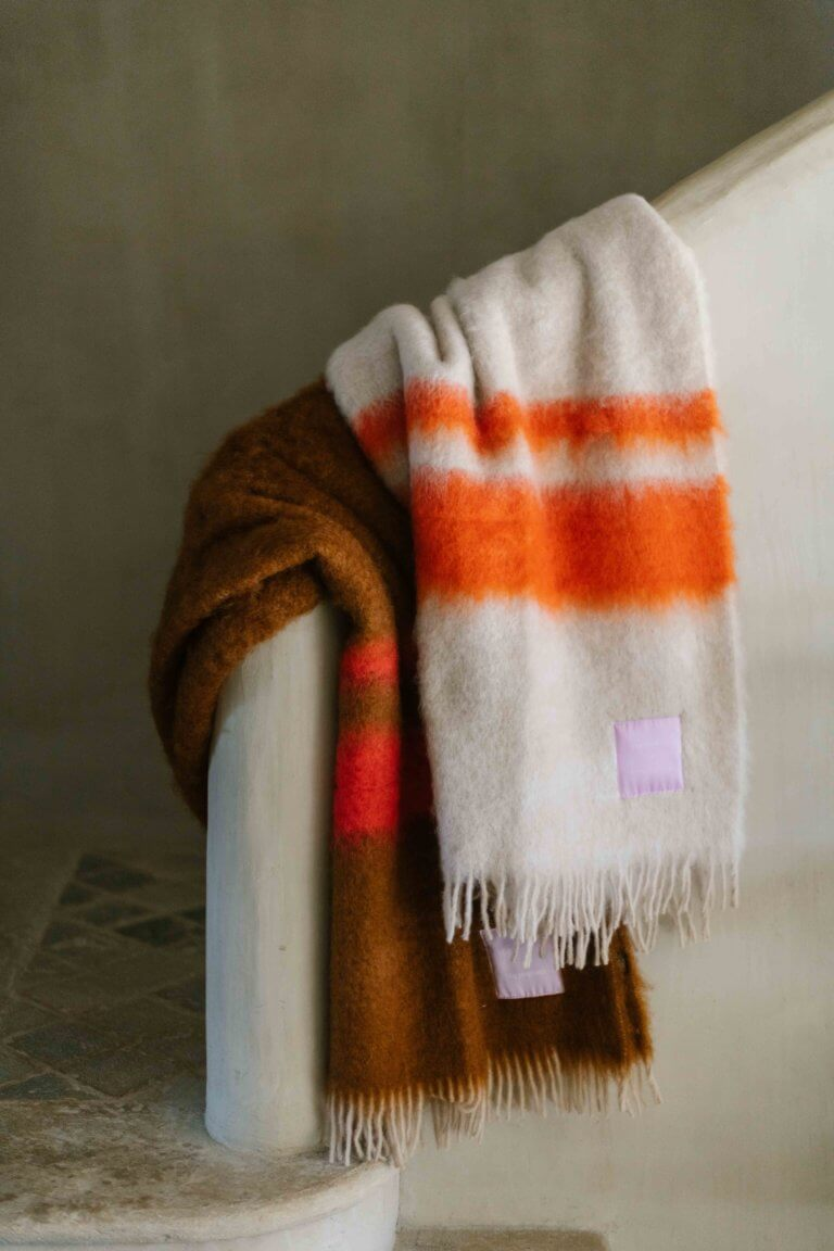 Mohair Blanket - curated by.