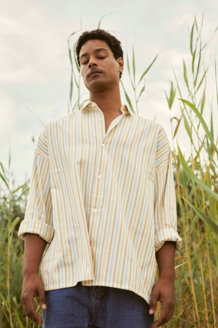 Venice Striped Shirt - curated by.